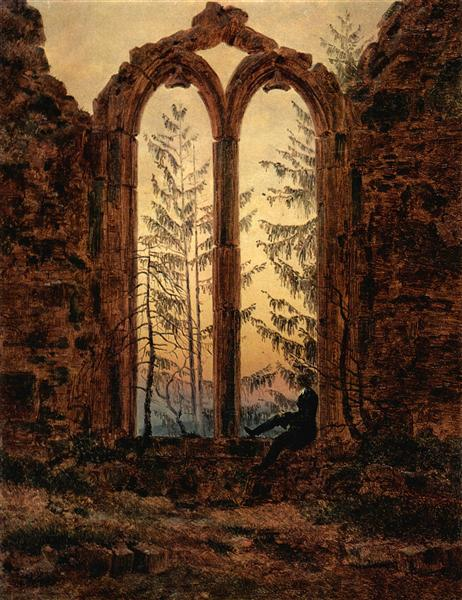 Caspar David Friedrich, The dreamer, 1820-1840.jpg