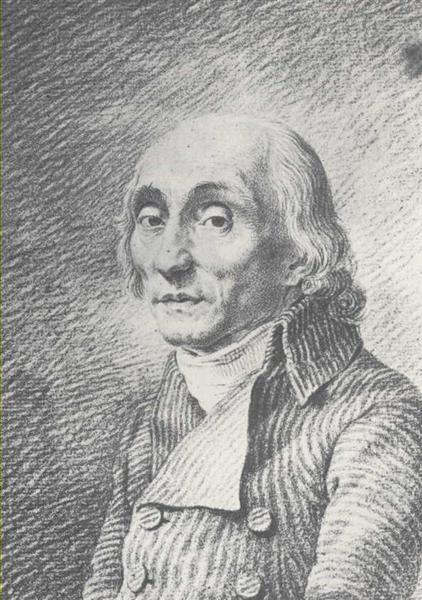Caspar David Friedrich,Ernst Theodor Johann Bruckner, 1801.jpg