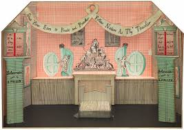 David Hockney, Mother Goose's Brothel from The Rake's Progress, 1975 - Stage design for The Rake's Progress, perfomed at Glyndebourne Festival Opera, 1975.jpg