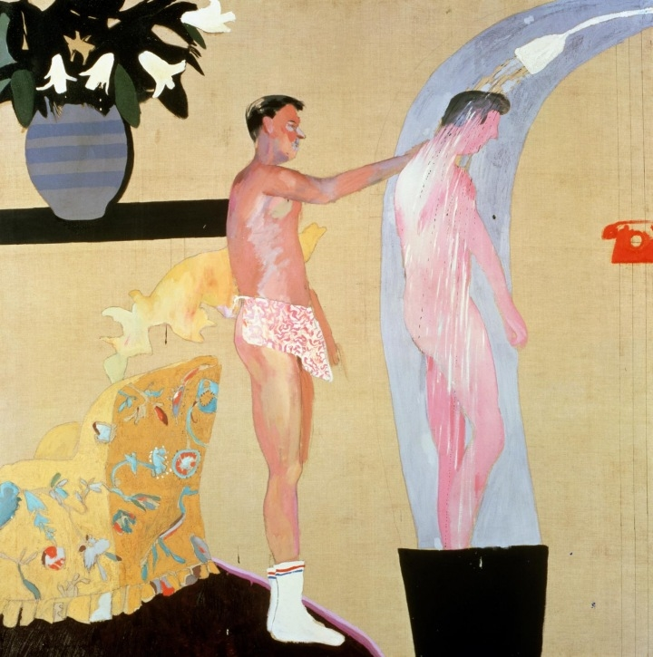 David Hockney, Domestic Scene, Los Angeles, 1963.jpg