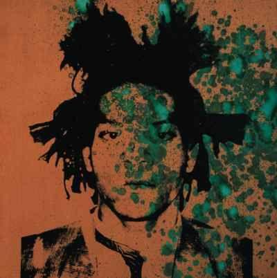 [크기변환]Andy Warhol, Jean-Michel Basquiat, ca. 1982 (Acrylic, silkscreen ink, and urine on canvas).jpg
