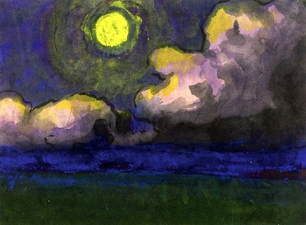 5Emil Nolde, Moon over the Marsh, circa 1920-1930.jpg