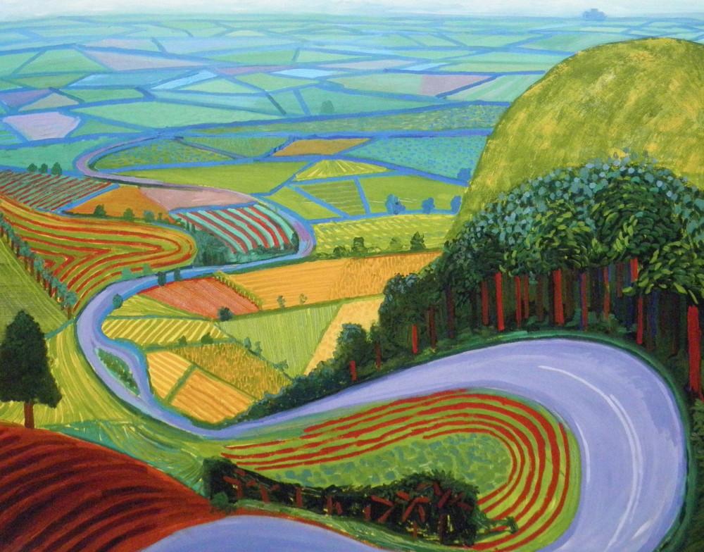 David Hockney, Garrowby Hill, 1998.jpg
