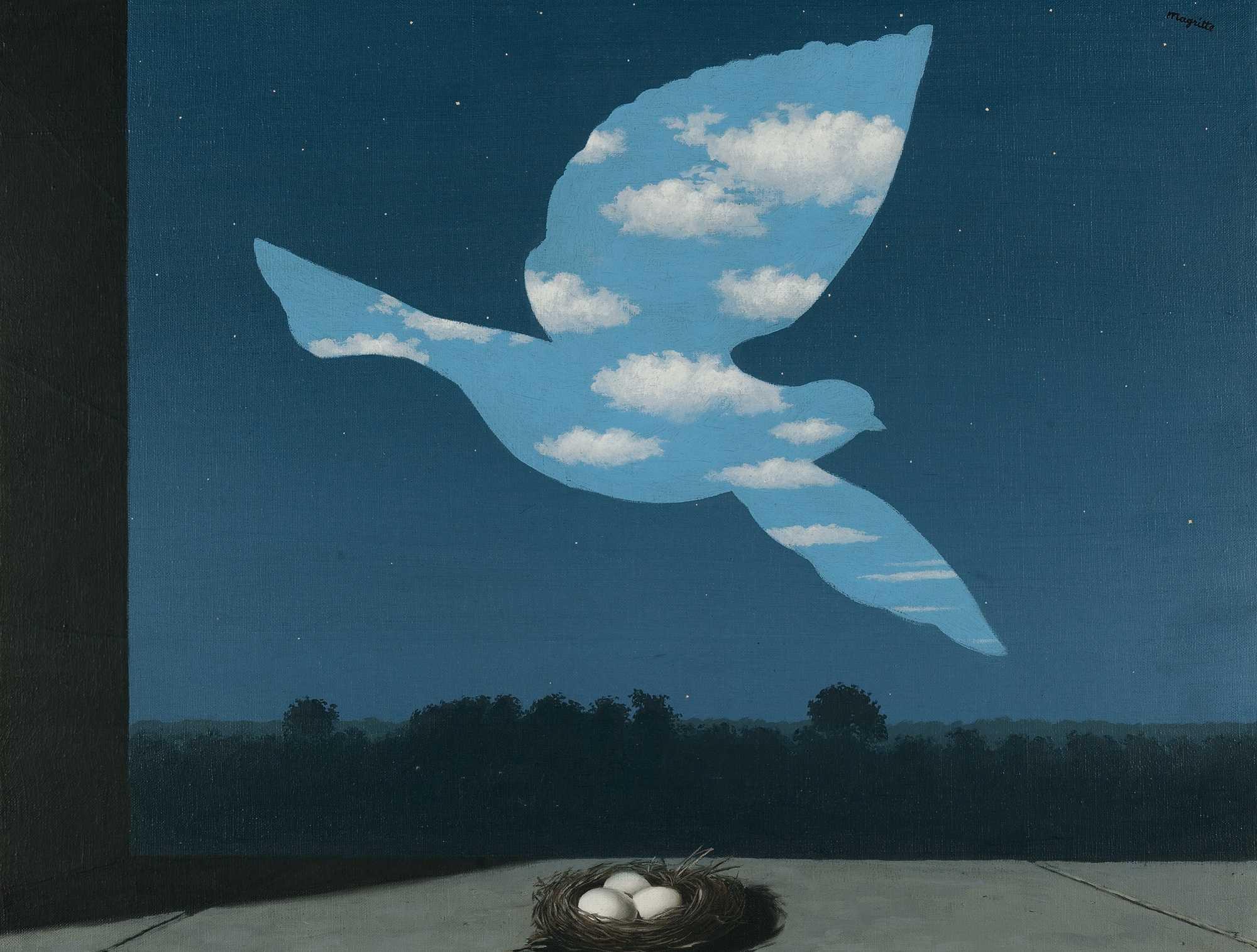 르네 마그리트,회귀(The Return), 1940.jpg
