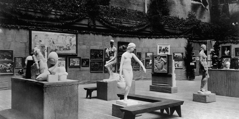 1913년 Amory Show.jpg