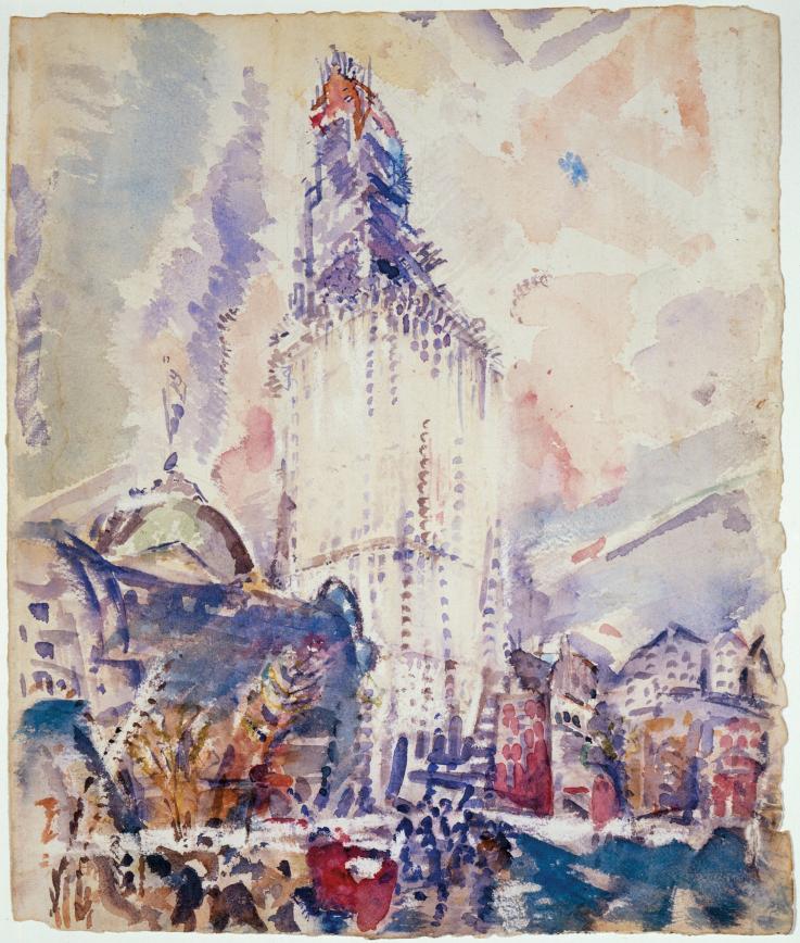 "JOHN MARIN (AMERICAN, 1870–1953), ""WOOLWORTH BUILDING, NO. 28,"" 1912.jpg"