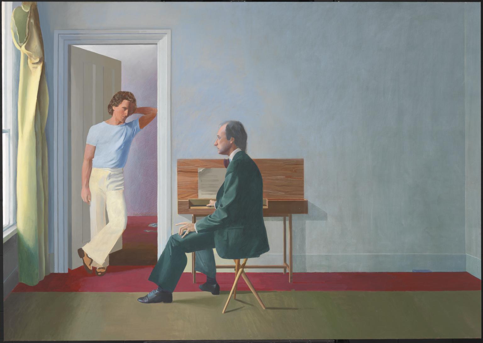 David Hockney, George Lawson and Wayne Sleep, 1972_1975.jpg