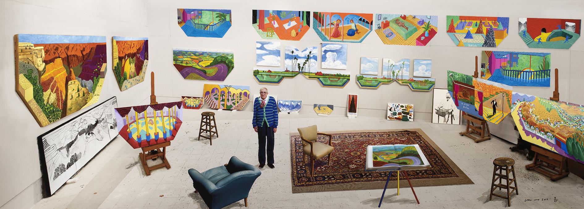 David Hockney, In the Studio, December 2017, 2017.jpg