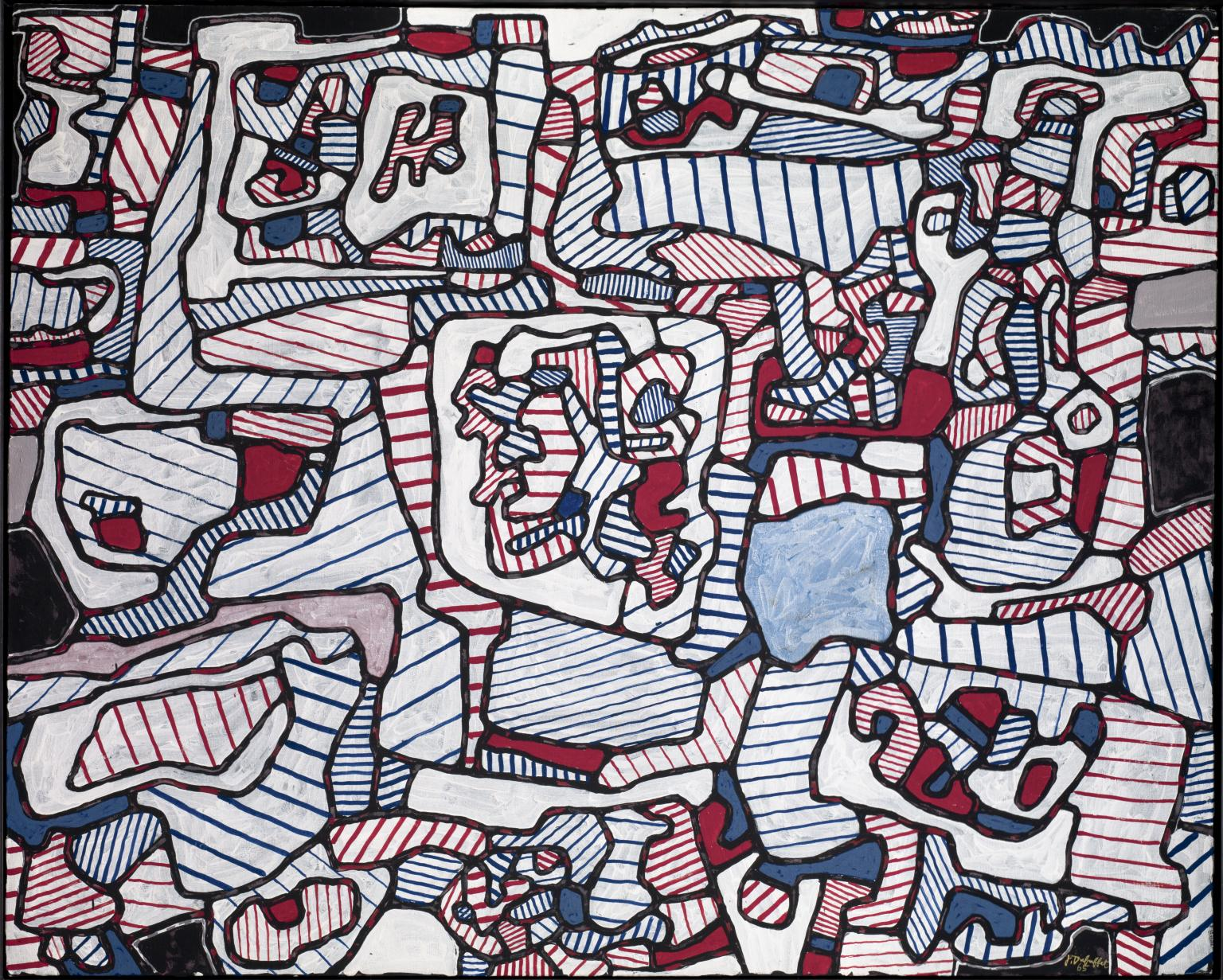Jean Dubuffet,Site Inhabited by Objects, 1965.jpg