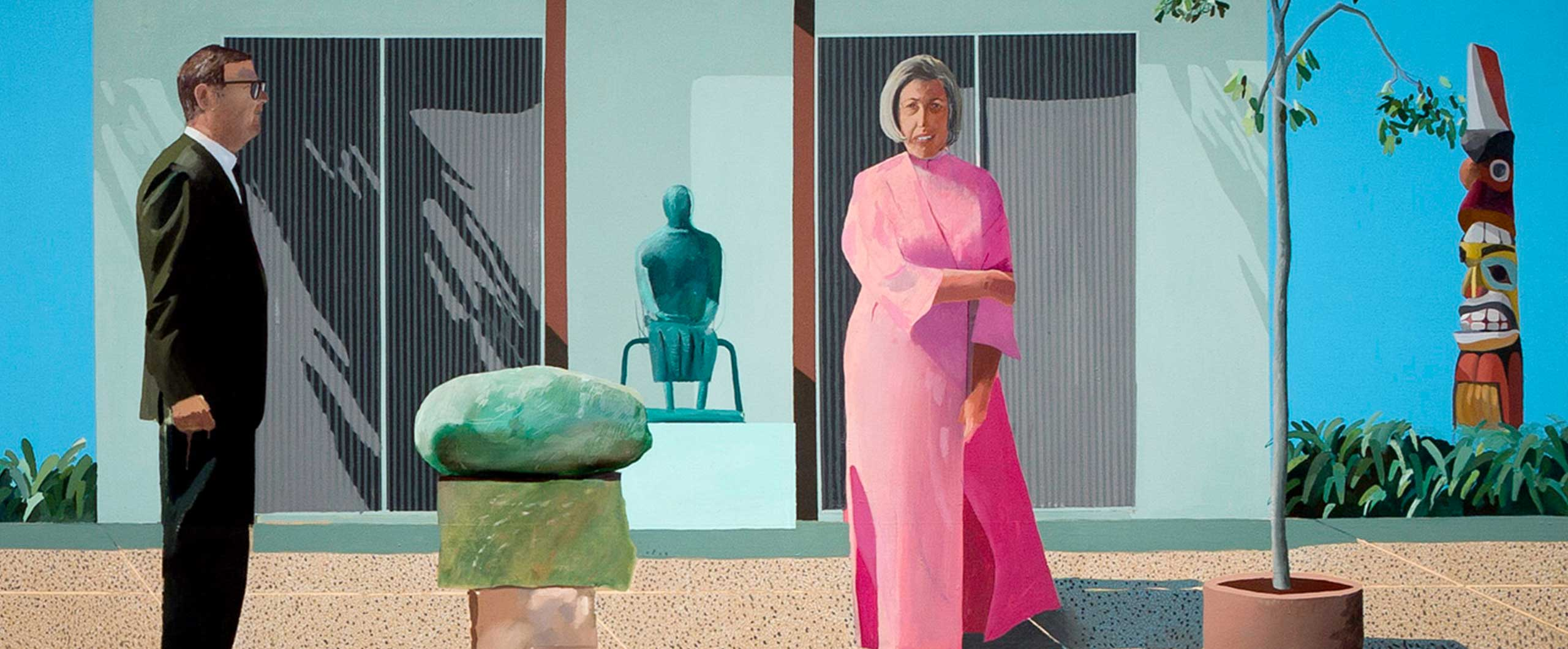 David Hockney, American collectors (Fred & Marcia Weisman), 1968.jpg