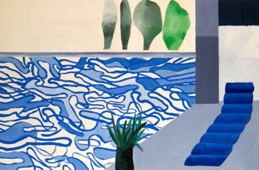 David Hockney, Picture of a Hollywood Swimming Pool, 1964.jpg