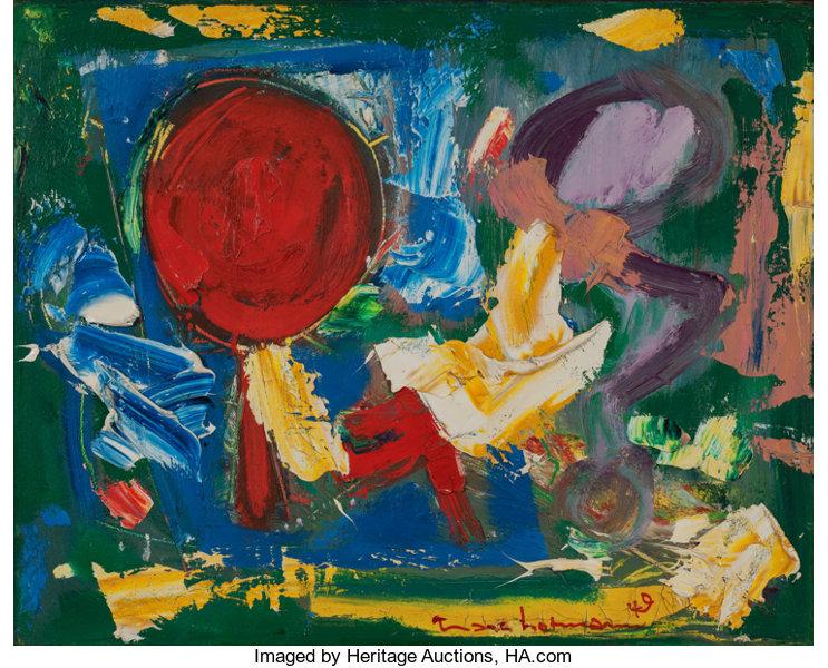 HANS HOFMANN, Red Sun, 1949.jpg