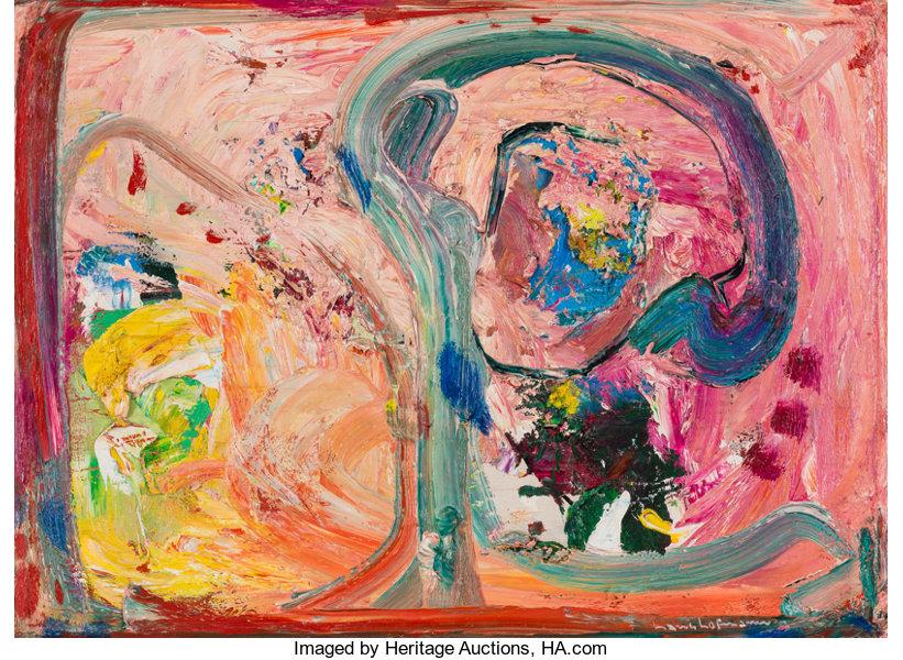 Hans Hofmann, Pink Phantasie, 1950.jpg