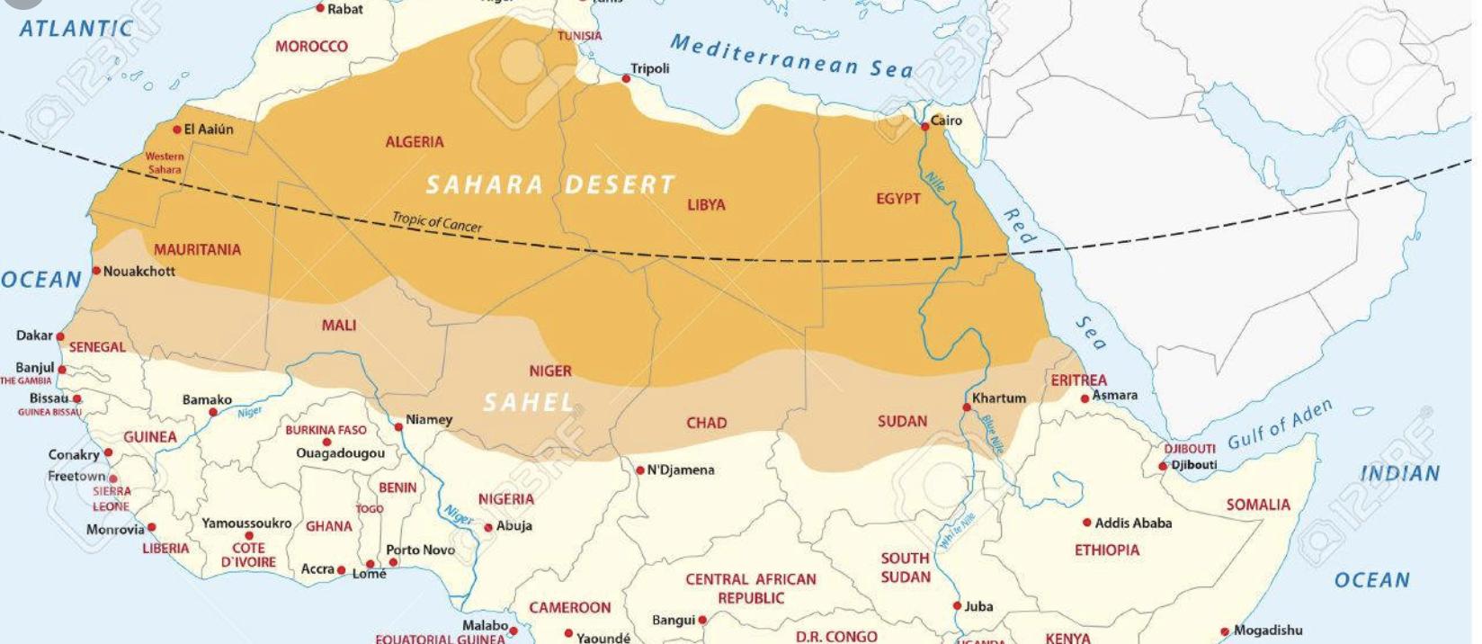 방대한 사헬 ( Sahel) 지역.jpg