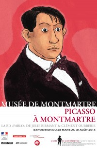 몽마르트의 피카소.jpg